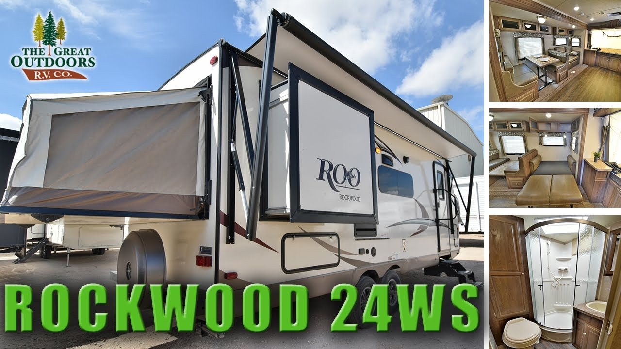 New Hybrid Expandable Rv 2018 Rockwood 24ws Pop Out