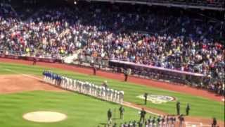 NEW YORK METS OPENING DAY 2012 CEREMONY (Plus Gary Carter Tribute)