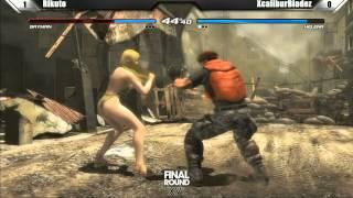 Dead or Alive 5 Grand Finals Rikuto vs XCaliburBladez Final Round XVI Tournament