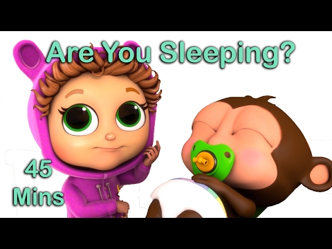 Thumbnail: Are You Sleeping? | Nursery Rhymes with Lyrics | Educational