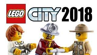 LEGO City 2018 sets information revealed!