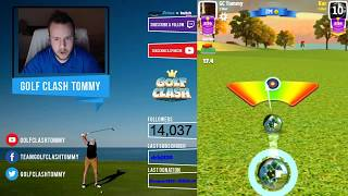 Golf Clash LIVESTREAM, Opening round - Masters division - HOLE 18, Earth Day tournament!