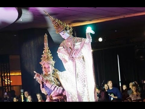 National Costume | มารีญา Miss Universe Thailand 2017 โชว์ชุดประจำชาติ เมขลาล่อแก้ว @MissUniverse