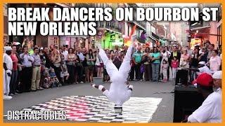 Break Dancers on Bourbon Street, New Orleans