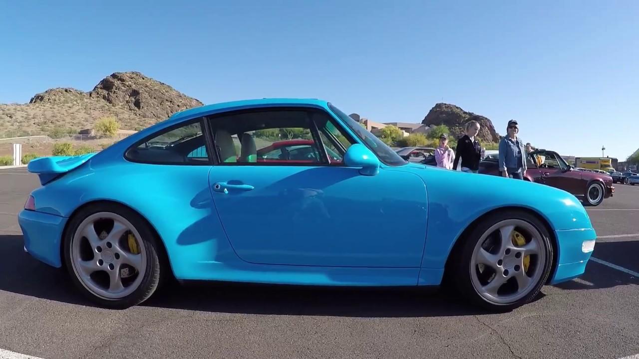 Porsche 993 Riviera Blue Turbo - YouTube