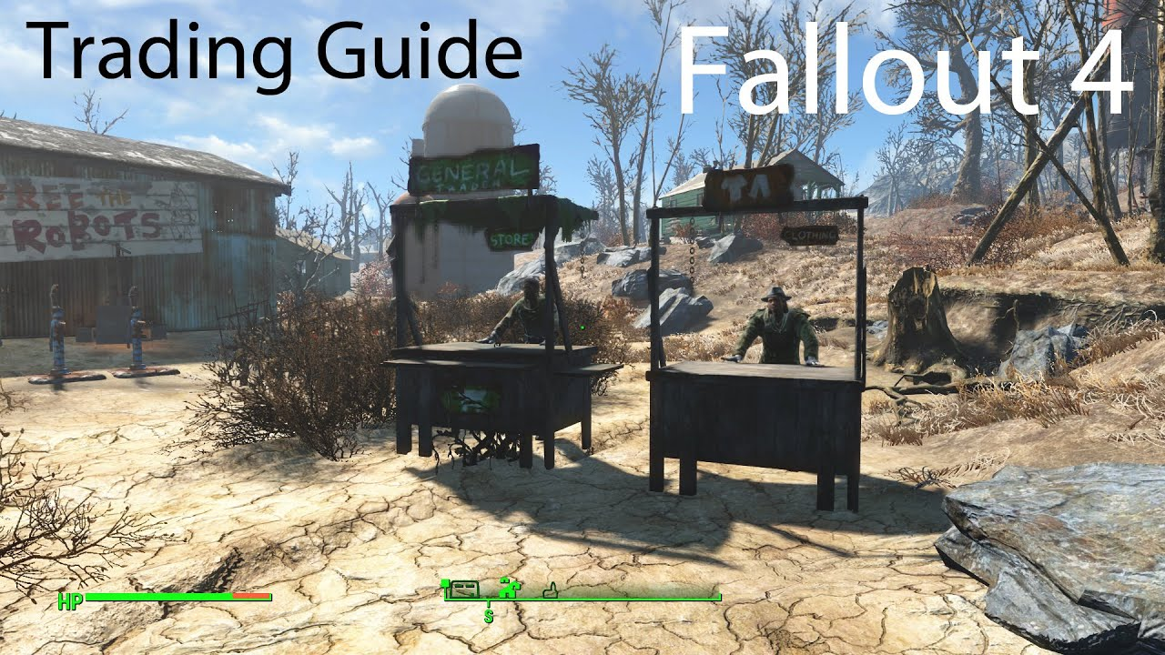 Trade Stands Fallout 4 : Fallout settlement trading guide routes assigning