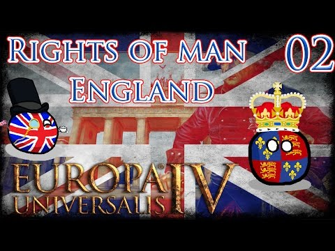 Let's Play Europa Universalis IV Rights of Man - England Part 2