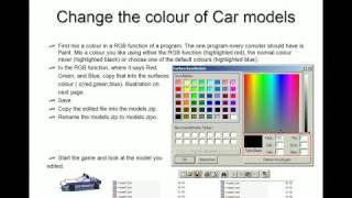 How to edit a car