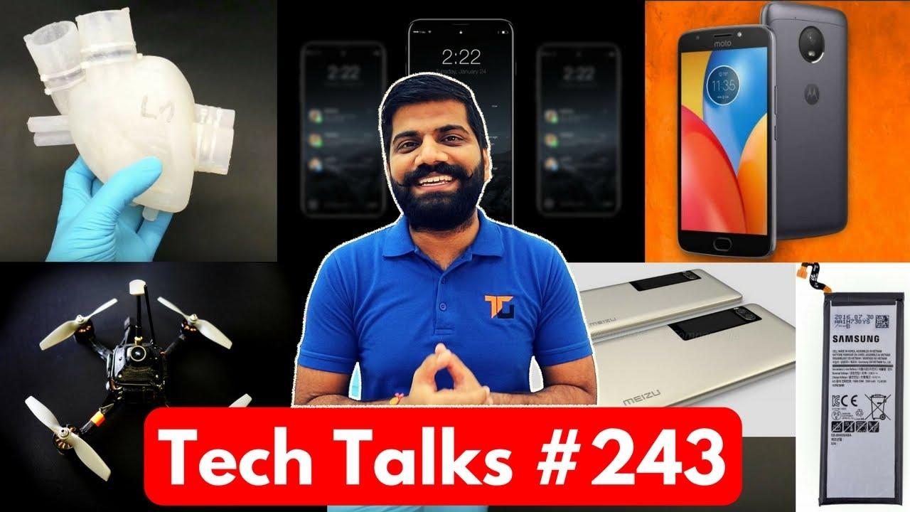 Tech Talks #243 - Galaxy S9, Apple Trouble, Vodafone Sakhi, Redmi 5, Silicone Heart, Moto E4 Plus