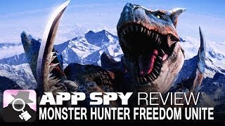 Monster Hunter Freedom Unite for iOS | iOS iPhone / iPad Gameplay Review - AppSpy.com