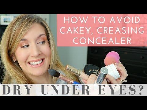 Dry Under Eyes? Cakey Concealer Issues? 8 Concealer Tips & Tricks