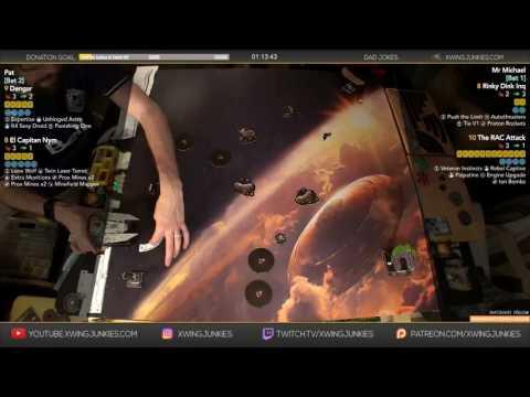 X-Wing TMG: WAVE XI Captain Nym, Dengar vs Rear Admiral Chirpy, Inquisitor