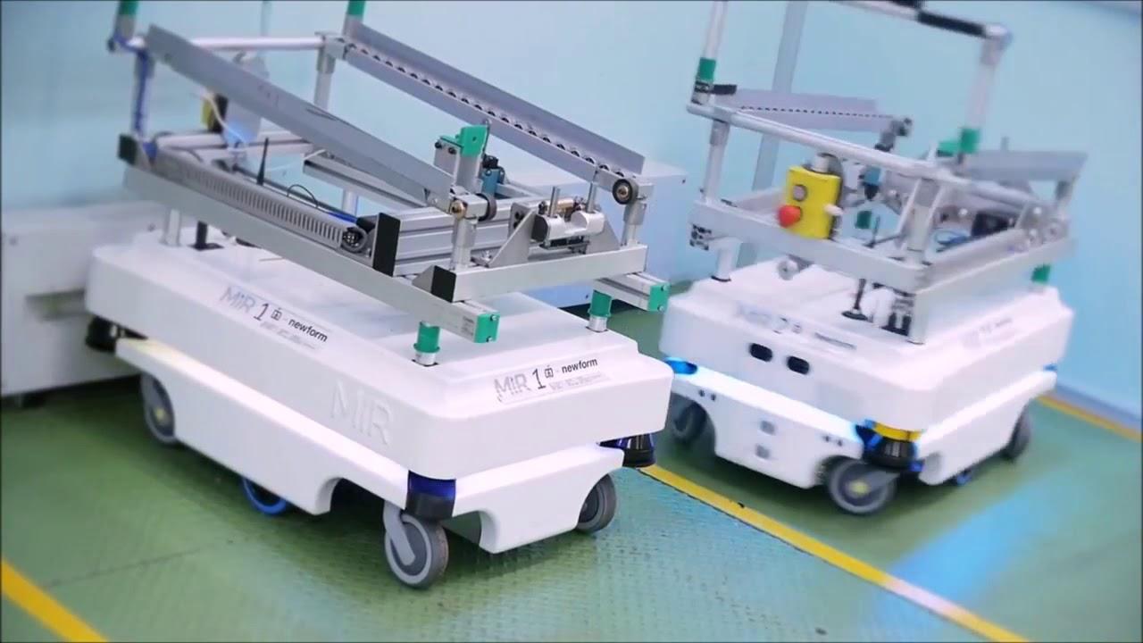 Mir mobile industrial robots youtube - Mobel industrial ...