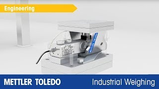 How to Install Weigh Modules Quickly - Product Video - METTLER TOLEDO Industrial - de