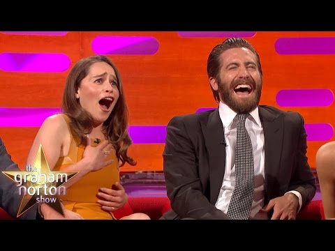 Emilia Clarke Mocked Over Her Name - The Graham Norton Show