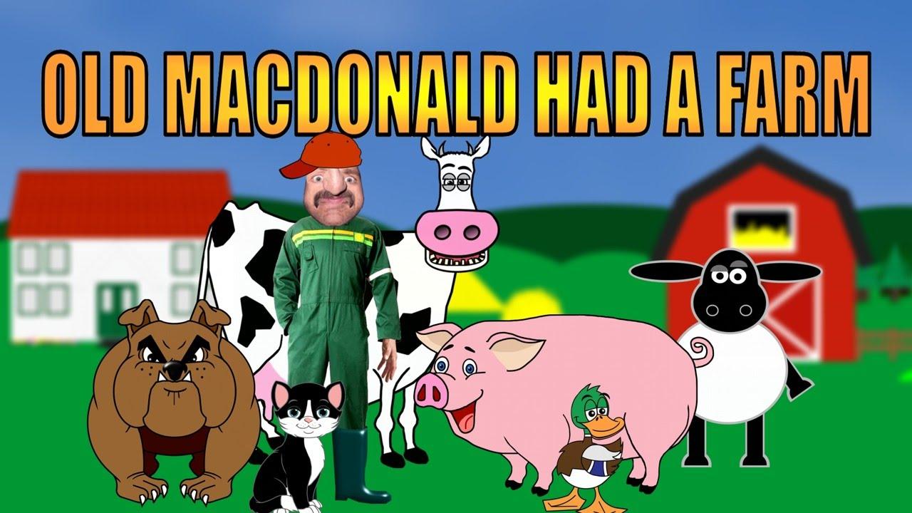 Old MacDonald had a farm   Children's Songs and Nursery ...