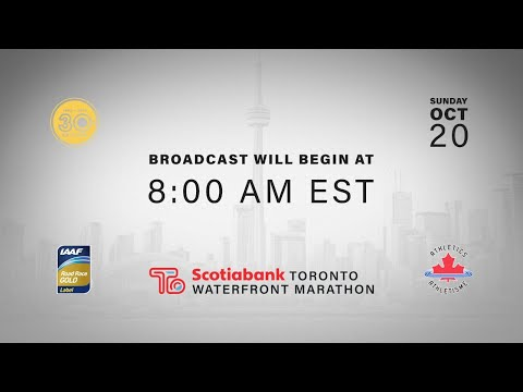 2019 Scotiabank Toronto Waterfront Marathon