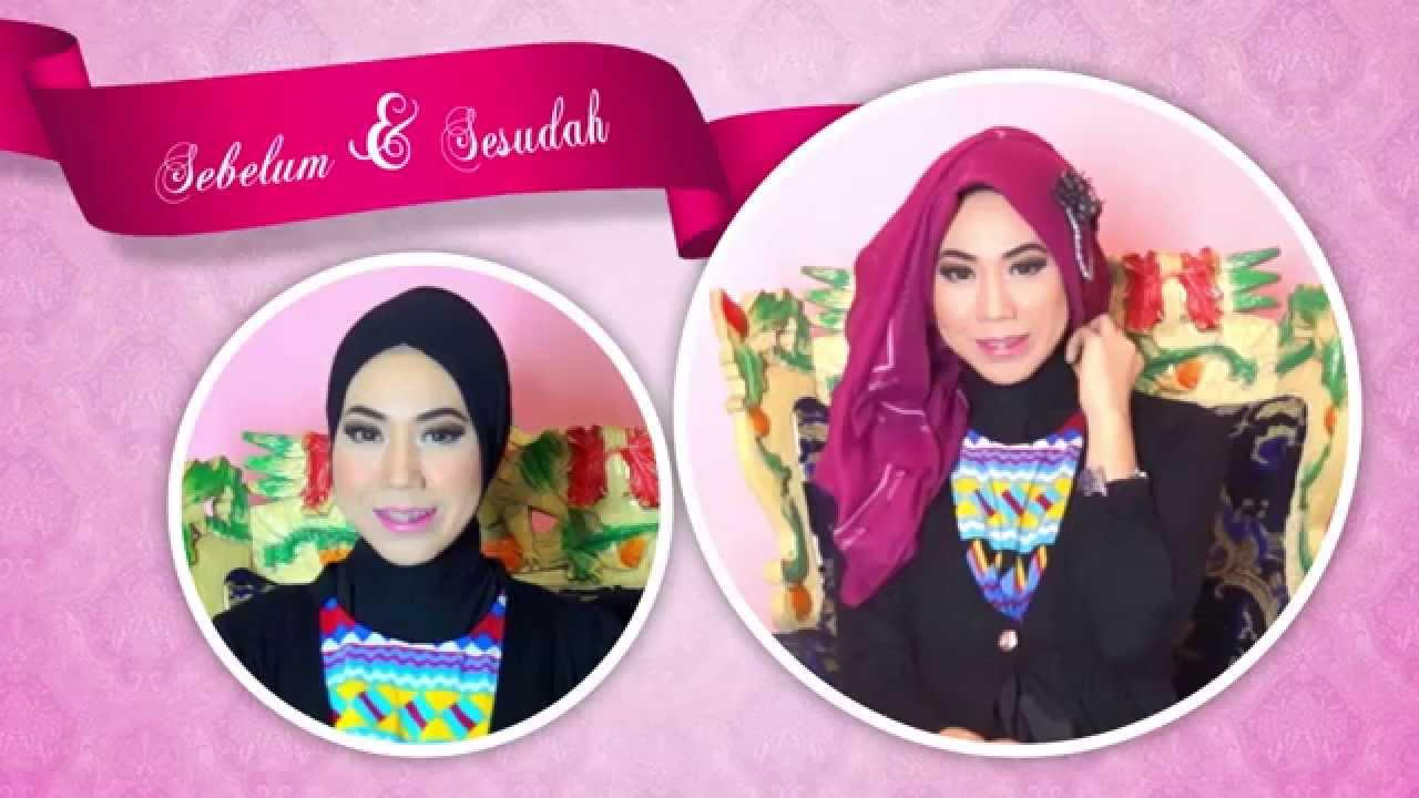 Tutorial Hijab Segi Empat Modern Kaila Elzatta YouTube