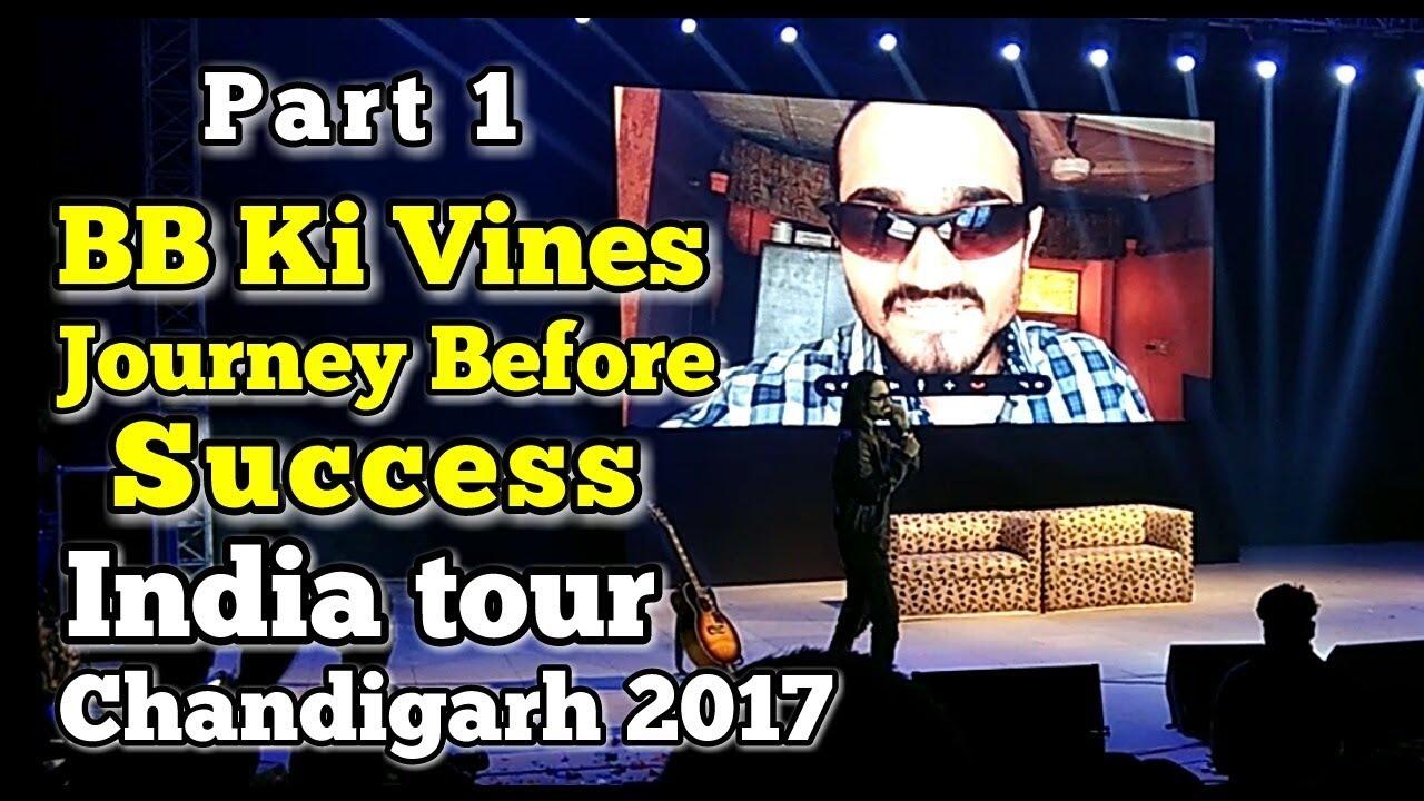 BB Ki Vines - Live show at Chandigarh / Journey Before success - Bhuvan Bam / Vlog - Monikazz DIY