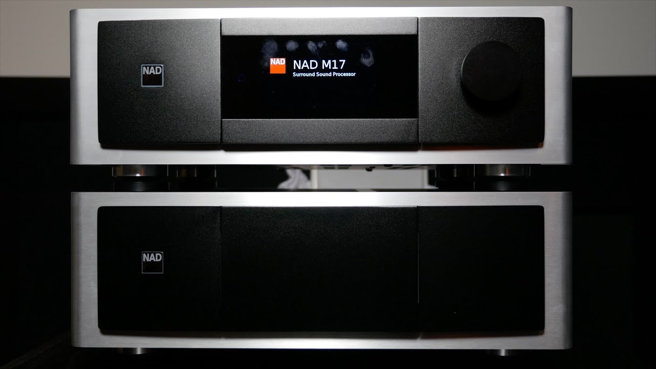 NAD Masters Series M17 AV Processor and M27 Amplifier Review