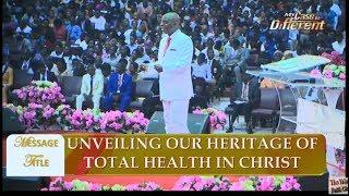 Bishop David Oyedepo @ Special Healing (1st) Service  August 6, 2017