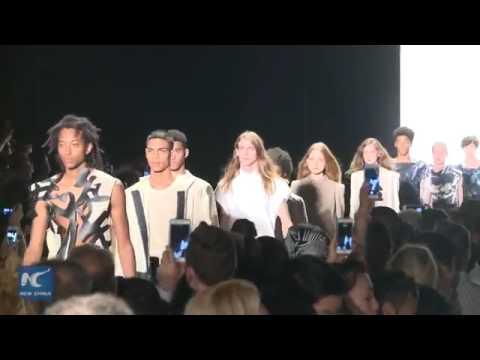 27295 fashion fair New China Chinese designers at New York Fashion Week