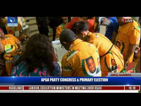APGA Party Congress & Primary Election Pt 24 Live Coverage