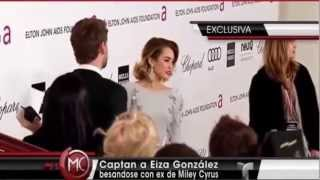 Eiza González - Besa a ex novio de