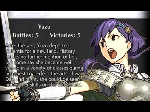 Fire Emblem Echoes: Shadows of Valentia - All Characters & Cipher Units  Endings
