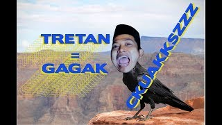 i replaced gagak on Salah Apa Aku Remix with Tretan Muslim's Cskuakszz