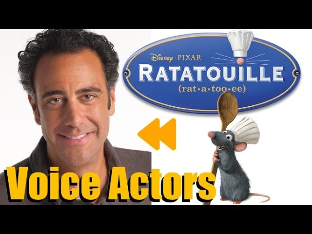 Ratatouille Voice Actors And Characters Youtube