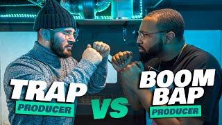 BATTLE!!! 2 Producers flip 1 Sample (Music Producer Beat Challenge)