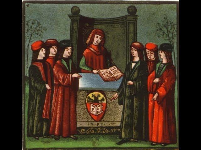 Образы университетской корпорации и их использование в правовой риторике XIII-XIV вв.