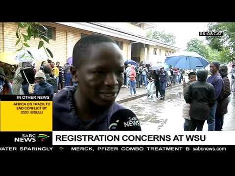 Registration concerns at WSU