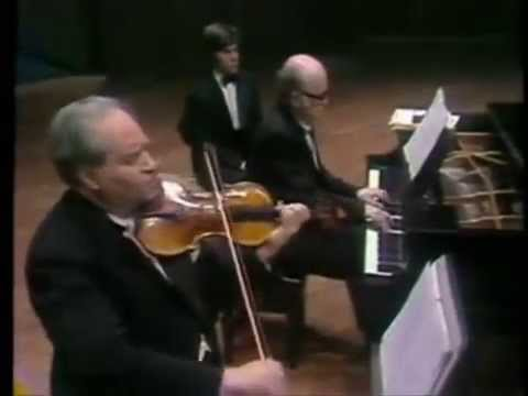 David Oistrakh - Brahms - Violin Sonata No 3 in D minor, Op 108