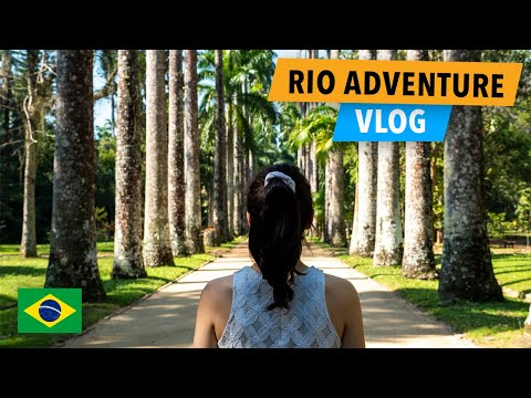 Rio De Janeiro Brazil Vlog - Botanical Gardens, Parque Lage & Selaron Staircase