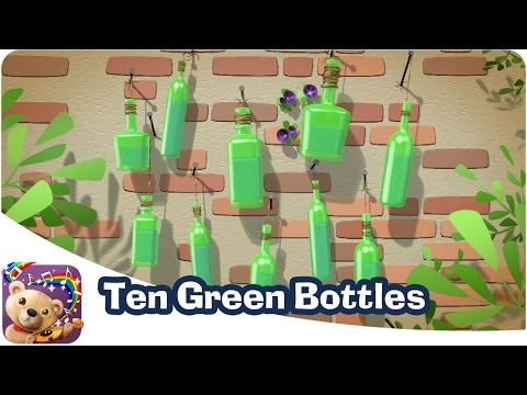 10 Green Bottles Hanging On The Wall