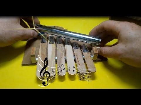 Do it yourself Cardboard Piano ( kendin yap karton piyano)