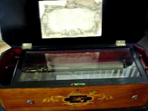 Multi Cylinder antique music box