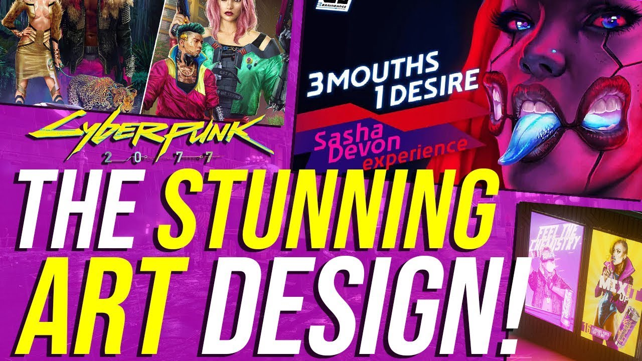 Cyberpunk 2077's Art Design, Direction & Philosophy! thumbnail