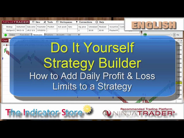 How to Limit the Daily Profit  Loss on a NinjaTrader Strategy - YouTube