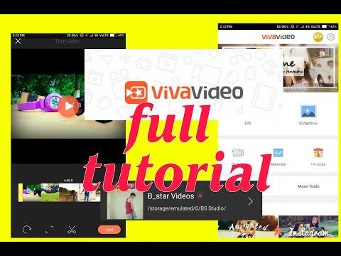 Viva Video Editor Tutorial