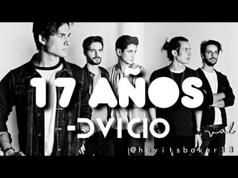 17 años (Letra) - DVICIO