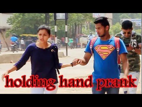 girl holding hand prank || holding hand prank || pretty girl holdig hand prank 2019 ||