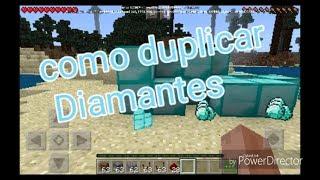 Como duplicar Diamantes en Minecraft pe😱| Primer video