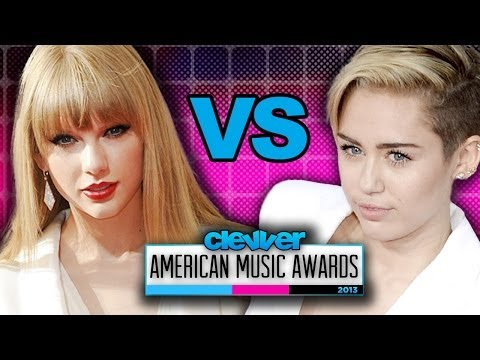 Miley Cyrus Vs. Taylor Swift: White Pantsuit 2013 American Music Awards