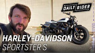 2021 Harley-Davidson Sportster S   Daİly Rider