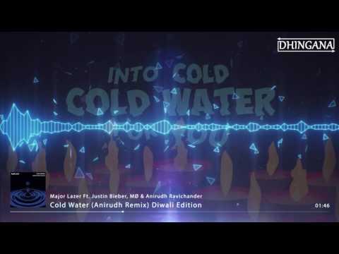 Major Lazer - Cold Water (Ft. Justin Bieber & MØ) (Anirudh Remix) Diwali Edition   Dhingana