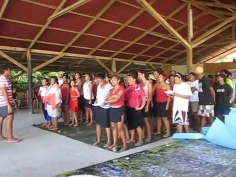 Tahitian Choir dec 2nd 2014