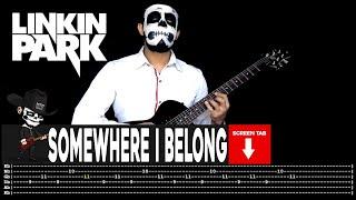 Linkin Park - Somewhere I Belong (Guitar Cover by Masuka W/Tab)